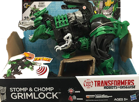 Transformers Robots In Disguise (2015-) Grimlock -RiD Stomp & Chomp - TRU excl
