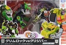 Takara - Adventure TAVVS-02 Grimlock vs Gregervor