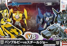 Takara - Adventure TAVVS-01 Bumblebee vs Steeljaw