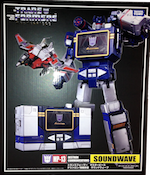 Takara - Masterpiece MP-13 Soundwave with Condor (Takara Masterpiece Soundwave with Laserbeak)