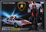 Transformers Masterpiece (Takara) MP-14 Alert (Takara Masterpiece Red Alert)