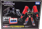 Transformers Masterpiece (Takara) MP-15 Rumble and Jaguar (Takara Masterpiece Rumble and Ravage)