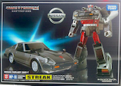 Transformers Masterpiece (Takara) MP-18 Streak (Takara Masterpiece Bluestreak)