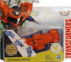 Transformers Robots In Disguise (2015-) Optimus Prime (1-step, Mini-Con Weaponizers)