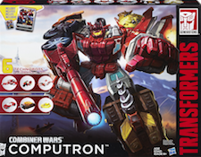Transformers Generations Computron (Scattershot, Nosecone, Strafe, Lightsteed, Afterbreaker, Scrounge)