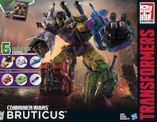 Transformers Generations G2 Bruticus (Onslaught, Shockwave, Blast Off, Vortex, Swindle, Brawl)