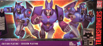 Transformers Generations Armada of Cyclonus (with Scourge and Sweep, Platinum Edition)