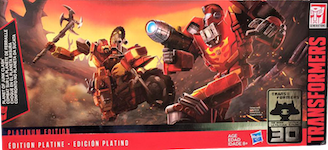 Transformers Generations Planet of Junk set (Autobot Hot Rod, Wreck-Gar, Junkion Scrapheap)