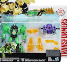Transformers Robots In Disguise (2015-) Grimlock vs. Decepticon Back