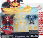 Transformers Robots In Disguise (2015-) Decepticon Hunter Sideswipe vs. Mini-Con Decepticon Anvil
