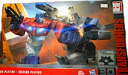 Transformers Generations One Shall Stand, One Shall Fall: Optimus Prime vs Megatron - Platinum Ed