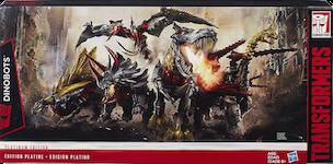 Transformers Generations Dinobots - Platinum Edition (Grimlock, Slug, Slog, Snarl, Strafe)