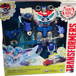Transformers Robots In Disguise (2015-) Power Surge Optimus Prime w/ Mini-Con Aerobolt