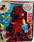 Transformers Robots In Disguise (2015-) Sideswipe with Mini-Con Windstrike (Power Heroes)