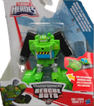 Transformers Rescue Bots Boulder the Construction-Bot (Rescan)