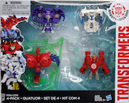 Transformers Robots In Disguise (2015-) Mini-Con 4-pack (w2) with Slipstream, Anvil, Hammer, and Undertone