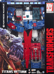 Transformers Generations SDCC Exclusive - Fortress Maximus w/ Cerebros and Emissary
