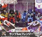 Takara - Adventure TAV32 Rumble & Frenzy