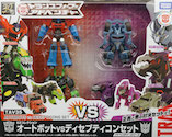 Takara - Adventure TAV35 EX Collection (Optimus Prime, Grimlock, Underbite, Steeljaw)