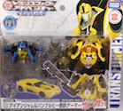 Takara - Transformers Adventure TAV40 Bumblebee with Ironjam