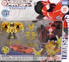 Takara - Adventure TAV43 Sideswipe with Barithunder