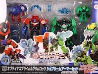 Takara - Adventure TAV45 Optimus Prime & Grimlock w/ Supreme Armor