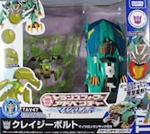 Takara - Transformers Adventure TAV47 Crazybolt