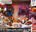 Takara - Transformers Adventure TAV49 EZ Collection (Optimus Prime, Ratchet, Drift, Clampdown)