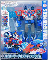 Takara - Transformers Adventure TAV50 Hyper Surge Optimus Prime