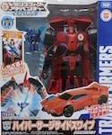 Takara - Transformers Adventure TAV53 Hyper Surge Sideswipe