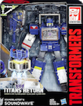 Transformers Generations Soundwave with Soundblaster