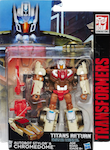 Transformers Generations Chromedome with Stylor