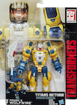 Transformers Generations Wolfwire with Monxo
