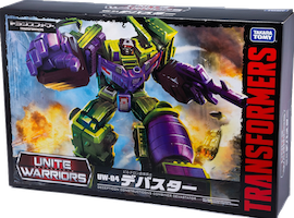 Unite Warriors (Takara) UW-04 Devastator (Hook, Long Haul, Scavenger, Bonecrusher, Scrapper, Mixmaster)