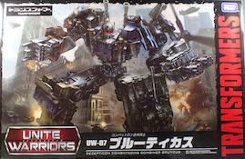 Unite Warriors (Takara) UW-07 Bruticus (Blast Off, Onslaught, Swindle, Brawl, and Vortex)