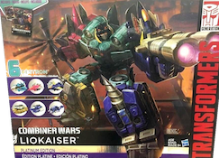 Transformers Generations Liokaiser (gift set)