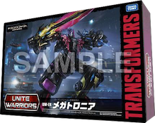 Unite Warriors (Takara) UW-EX Megatronia - Megaempress, Lunaclub, Moonheart, Flowspade and Trickdiamond