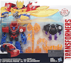 Transformers Robots In Disguise (2015-) Decepticon Hunter Optimus Prime vs. Mini-Con Decepticon Bludgeon