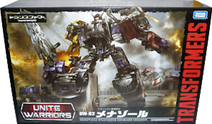 Takara - Unite Warriors UW-02 Menasor (Dead End, Motormaster, Breakdown, Dragstrip, Wildrider)