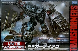 Unite Warriors (Takara) UW-03 Defensor (Blades, Hot Spot, Streetwise, First Aid, Groove)