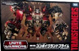 Takara - Unite Warriors UW-05 Convoy Grand Prime (Sunstreaker, Ironhide, Prowl, Mirage, Optimus Prime)