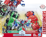 Transformers Robots In Disguise (2015-) Grimlock and Optimus Prime (Crash Combiners)