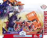 Robots In Disguise / RID (2015-) Saberhorn & Bisk (Crash Combiners)