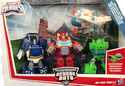 Rescue Bots Griffin Rock Rescue Team (Heatwave, Blades, Boulder, Chase)