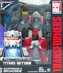 Transformers Generations Broadside with Blunderbuss