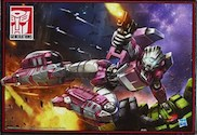 Transformers Generations (Headmaster) Arcee with Leinad (Daniel Witwicky) & Titanmaster Ultra Magnus