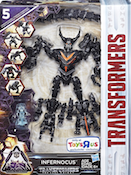 Transformers 5 The Last Knight Infernocus with Quintessa (Rupture, Skulk, Infernocon Thrash, Gorge, Glug)