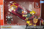 Transformers Legends LG45 Targetmaster Hot Rod w/ Firebolt
