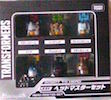 Takara - Legends LGEX Headmaster Set (Takara - w/ Chromedome, Hardhead, Brainstorm, Brawn, Grimlock, Flywheels)