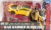 Transformers Movie The Best (Takara) MB-18 War Hammer Bumblebee (TLK)
